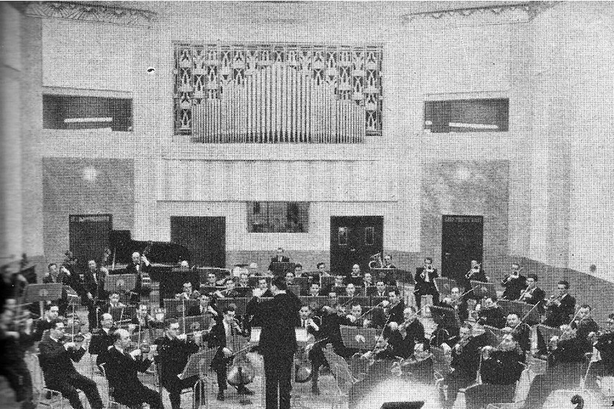 Vista Auditorio de LR1 Radio El Mundo - 1936
