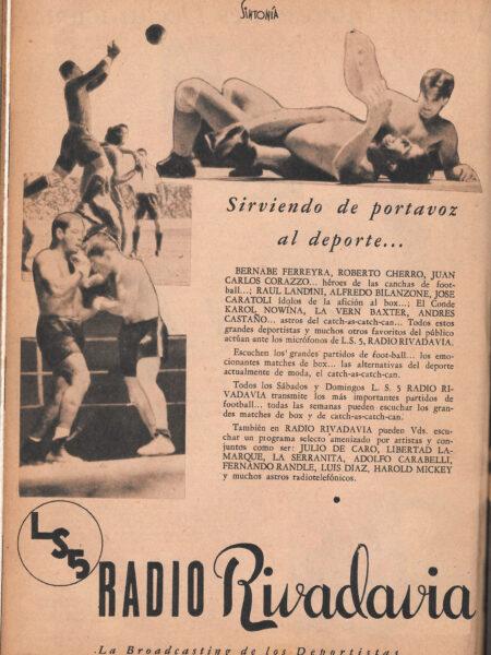 LS5 Radio Rivadavia - Sintonía - 28-04-1934