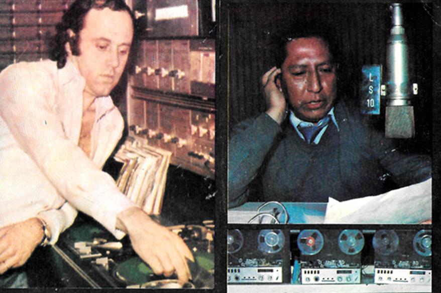 Controles de LS10 Radio del Plata - 1975