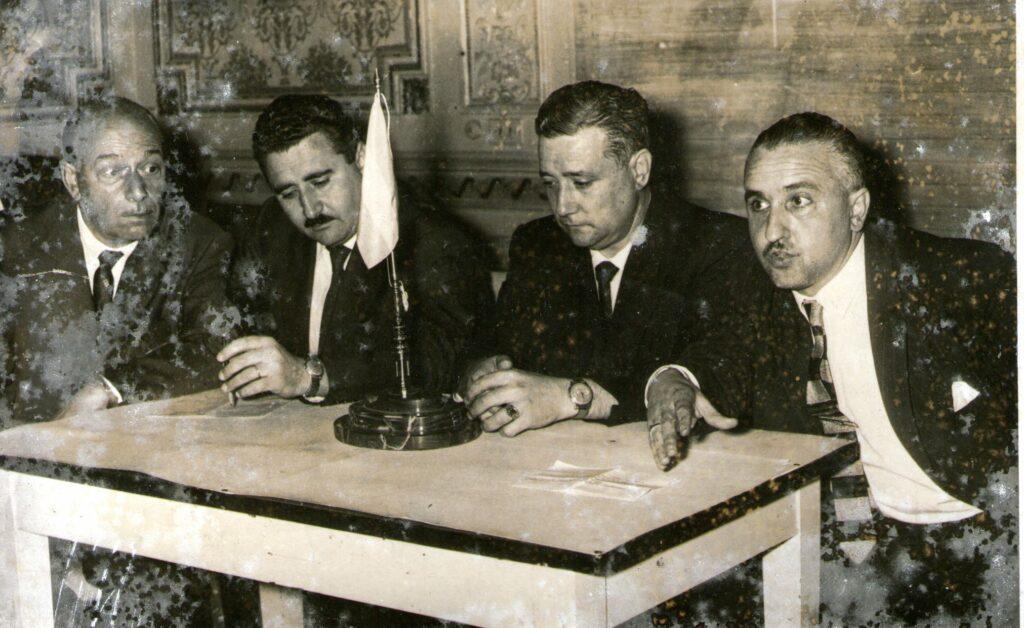 José María Muñoz en LS5 Radio Rivadavia. 1959.