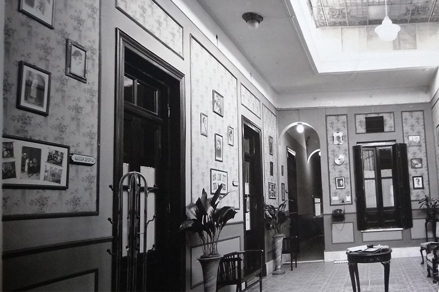 Espacios comunes en Radio Belgrano - 1930