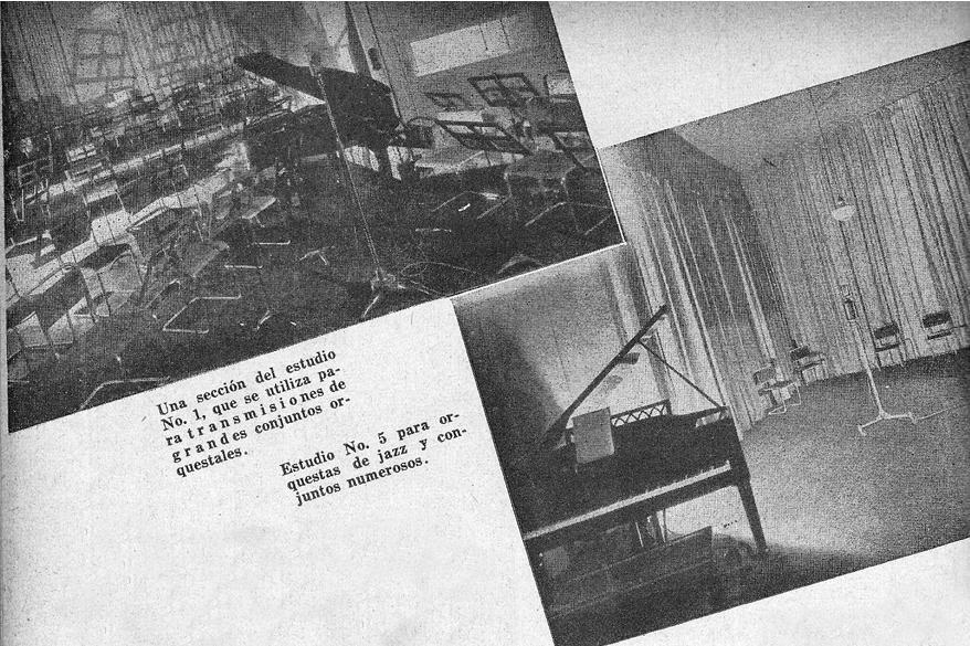 Estudios Radio Splendid - Album Radiotelefónico 1936