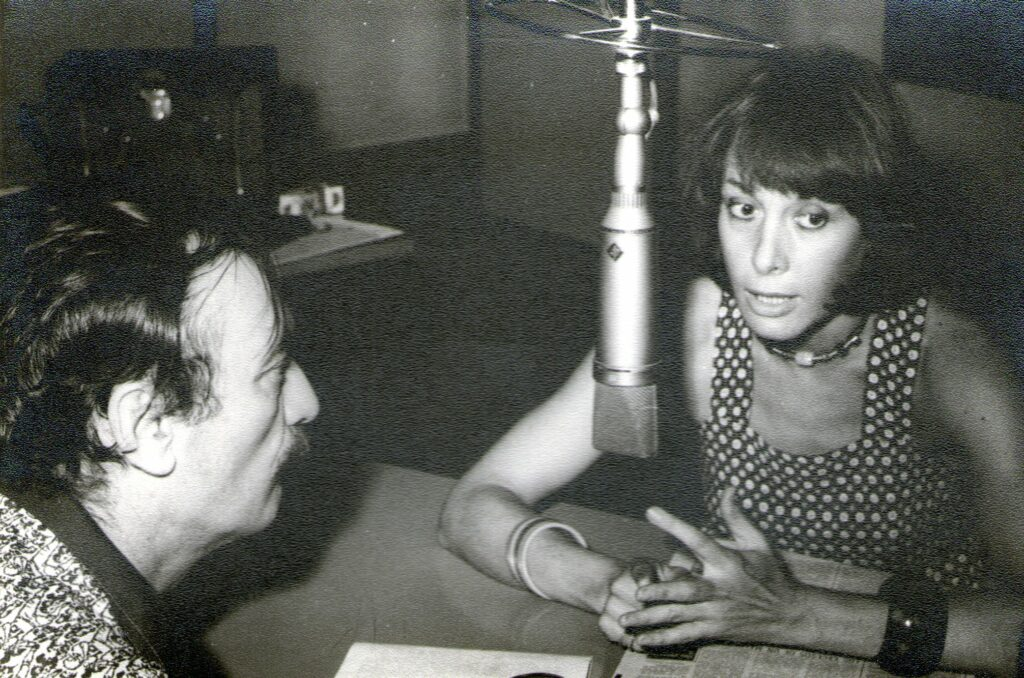 La Vida y el Canto. Antonio Carrizo entrevista a Thelma Biral. LS5. 13-2-76