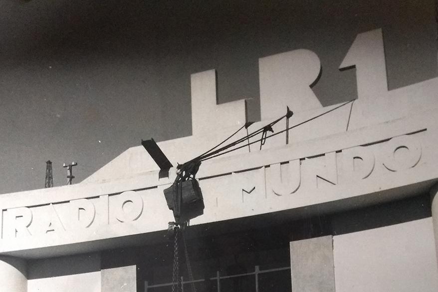 Planta transmisoras de Radio El Mundo - Finales de 1950
