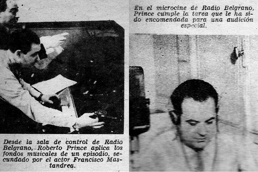 Sala de control y microcine de la antigua Radio Belgrano
